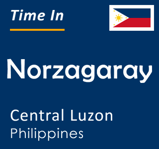 Current time in Norzagaray, Central Luzon, Philippines