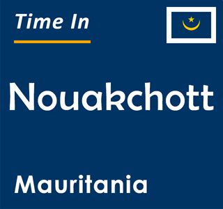 Current time in Nouakchott, Mauritania
