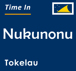 Current time in Nukunonu, Tokelau