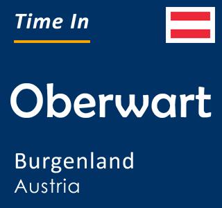Current time in Oberwart, Burgenland, Austria