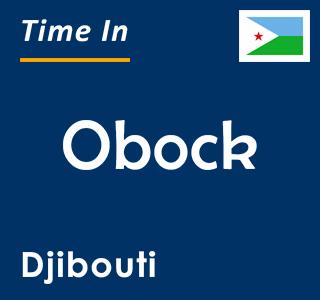 Current time in Obock, Djibouti