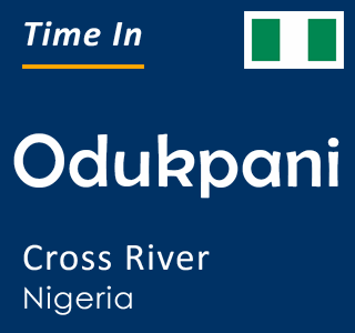 Current time in Odukpani, Cross River, Nigeria