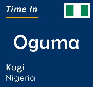 Current time in Oguma, Kogi, Nigeria