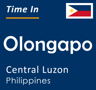 Current time in Olongapo, Central Luzon, Philippines