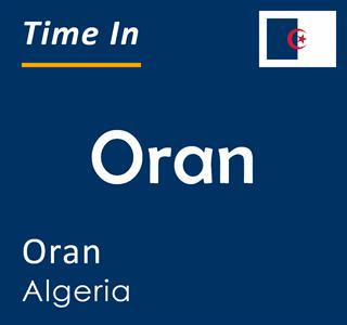 Current time in Oran, Oran, Algeria