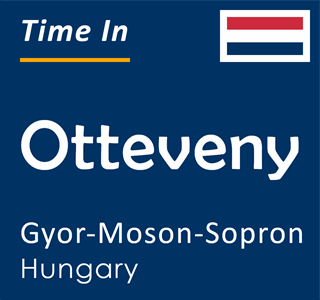 Current time in Otteveny, Gyor-Moson-Sopron, Hungary