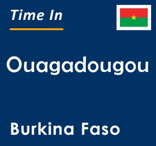 Current time in Ouagadougou, Burkina Faso