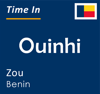 Current time in Ouinhi, Zou, Benin