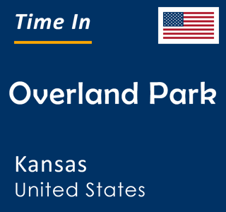 Current time in Overland Park, Kansas, United States