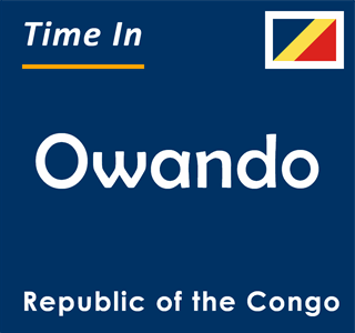 Current time in Owando, Republic of the Congo