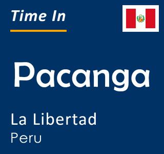 Current time in Pacanga, La Libertad, Peru
