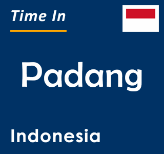 Current time in Padang, Indonesia