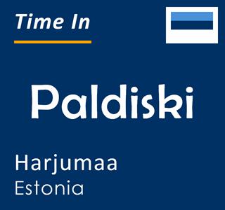 Current time in Paldiski, Harjumaa, Estonia