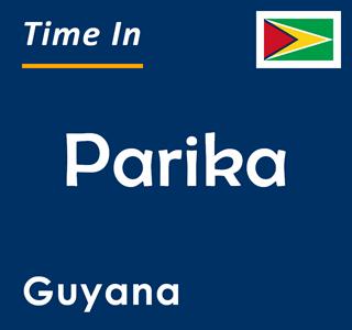 Current time in Parika, Guyana