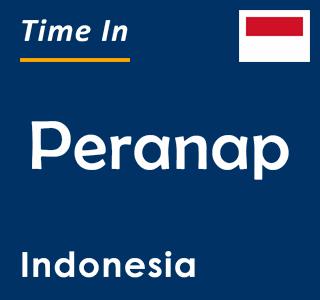 Current time in Peranap, Indonesia
