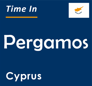 Current time in Pergamos, Cyprus