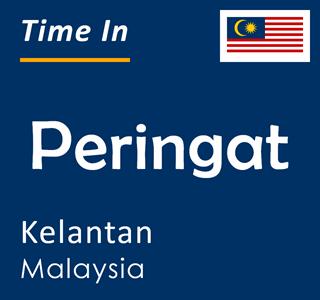 Current time in Peringat, Kelantan, Malaysia