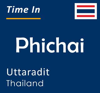 Current time in Phichai, Uttaradit, Thailand