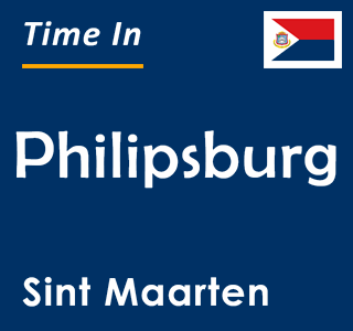Current time in Philipsburg, Sint Maarten