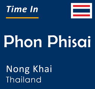 Current time in Phon Phisai, Nong Khai, Thailand