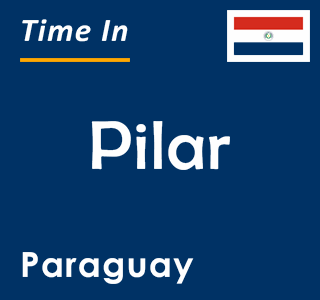 Current time in Pilar, Paraguay