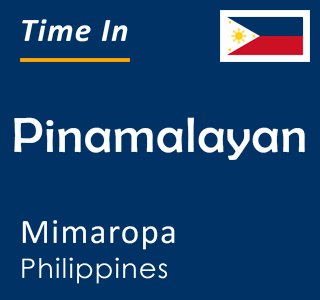 Current time in Pinamalayan, Mimaropa, Philippines