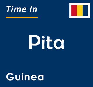 Current time in Pita, Guinea