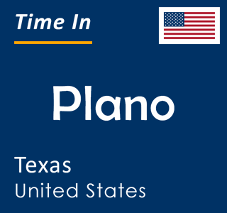 Current time in Plano, Texas, United States