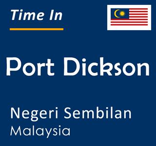 Current time in Port Dickson, Negeri Sembilan, Malaysia