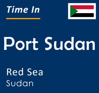 Current time in Port Sudan, Red Sea, Sudan