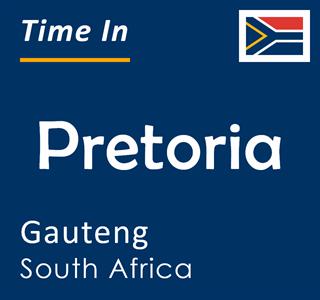 Current time in Pretoria, Gauteng, South Africa