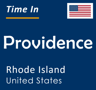 Current time in Providence, Rhode Island, United States