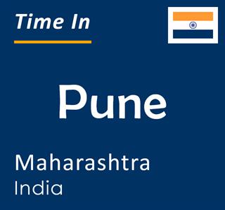 Current time in Pune, Maharashtra, India