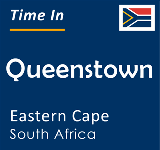 Current time in Queenstown, Eastern Cape, South Africa