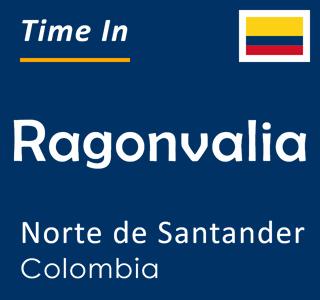 Current time in Ragonvalia, Norte de Santander, Colombia