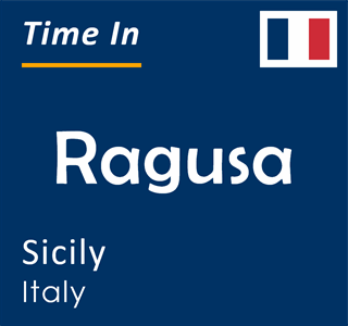 Current time in Ragusa, Sicily, Italy