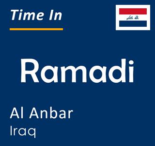 Current time in Ramadi, Al Anbar, Iraq