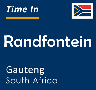 Current time in Randfontein, Gauteng, South Africa