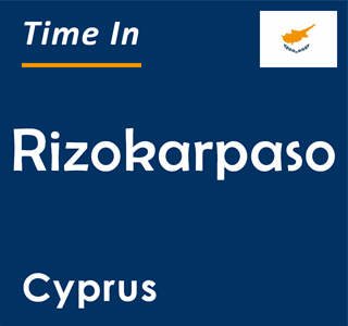 Current time in Rizokarpaso, Cyprus