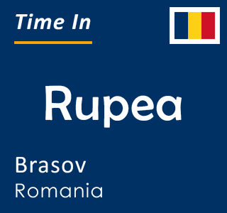 Current time in Rupea, Brasov, Romania