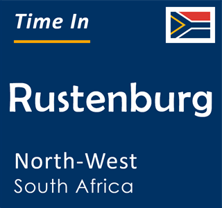 Current time in Rustenburg, North-West, South Africa