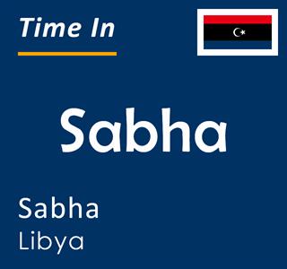 Current time in Sabha, Sabha, Libya