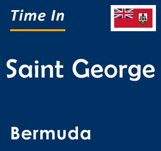 Current time in Saint George, Bermuda
