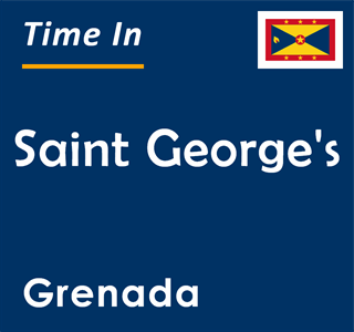 Current time in Saint George's, Grenada