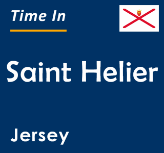 Current time in Saint Helier, Jersey