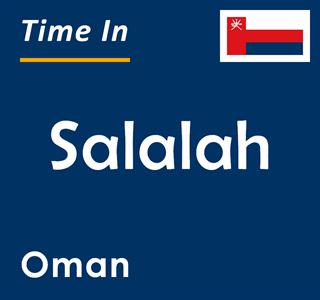 Current time in Salalah, Oman