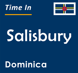 Current time in Salisbury, Dominica
