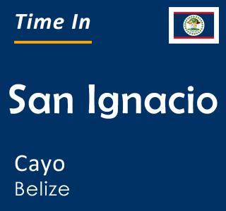 Current time in San Ignacio, Cayo, Belize
