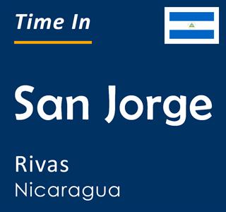 Current time in San Jorge, Rivas, Nicaragua