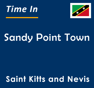 Current time in Sandy Point Town, Saint Kitts and Nevis